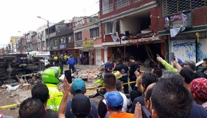 Al menos cuatro muertos y 30 heridos en una explosión en una vivienda de Bogotá