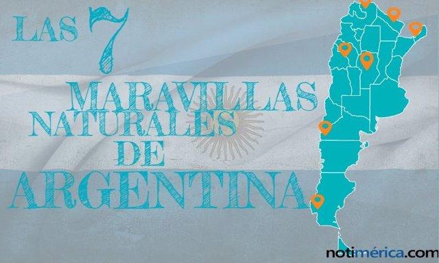 Estas son las 7 maravillas naturales de Argentina elegidas por la población nacional