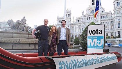 #NoMásMuertesEnElMediterráneo, la campaña de M+J para las europeas del 26M