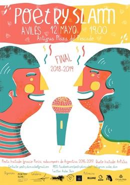 Avilés.- La primera final local del 'Poetry Slam' enfrentará este domingo a seis poetas