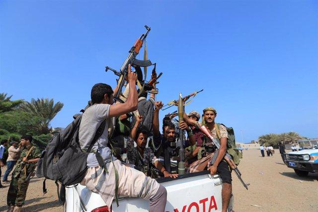 Yemen.- Los huthis amenazan con atacar Riad y Dubái si la violencia continúa en Hodeida