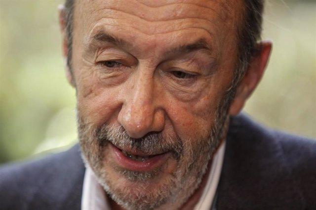 Retrospectiva del exvicepresidente del Gobierno y exsecretario general del PSOE, Alfredo Pérez Rubalcaba