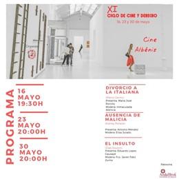 Málaga.- El Colegio de Abogados organiza una nueva edición del ciclo de Cine y Derecho