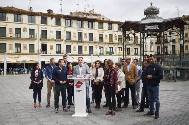 """26M.- Esparza (Navarra Suma) Apuesta Por """"Ofrecer Oportunidades A La Ribera Y Darle La Relevancia Que Merece"""""""