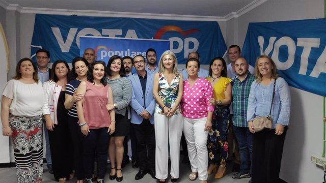 """Sevilla.- 26M.- Virginia Pérez afirma que el Aljarafe """"volverá a la senda de la buena gestión con el PP"""""""