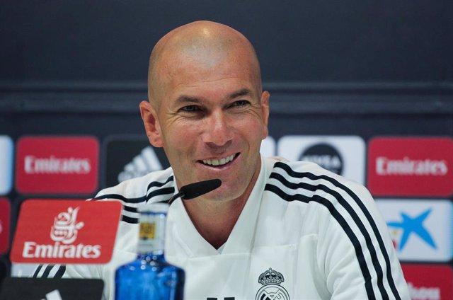 Soccer: La Liga - Training day -Real Madrid