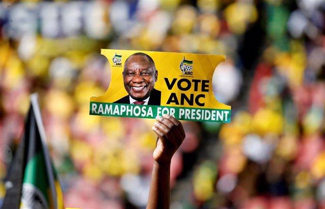 Sudáfrica.- El CNA se impone en las legislativas de Sudáfrica por primera vez con menos del 60 por ciento de votos