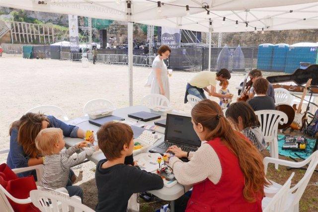 El Cranc Festival celebra una jornada de actividades para niños y conferencias