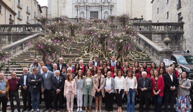 Girona Temps de Flors obre el seu 64 edició amb 171 projectes en 137 espais