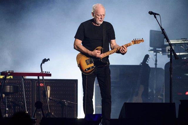 David Gilmour concierto Pompeya