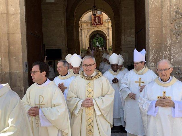 Monseñor Sebastián Chico ya es Obispo auxiliar de la Diócesis de Cartagena