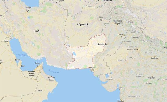 Región de Baluchistán, Pakistán