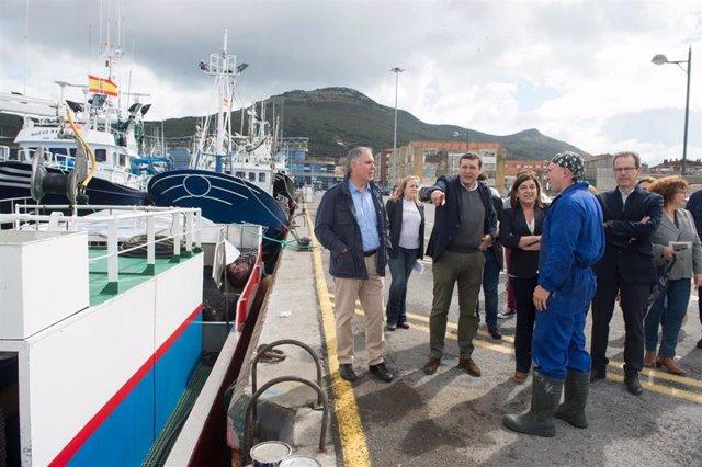 26M.- Buruaga Defiende Que El PP Es El Único Que Puede Defender Al Sector Pesquero En Madrid Y En Bruselas
