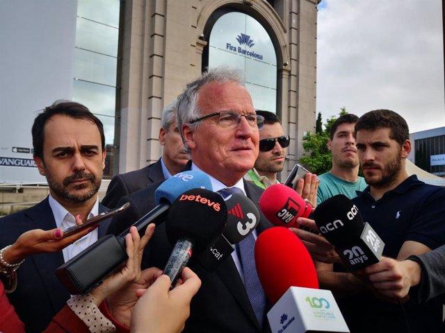 """26M.- Bou (PP) Critica Que Colau Y Torra """"No Hayan Recibido Al Rey"""" En El Automobile Barcelona"""