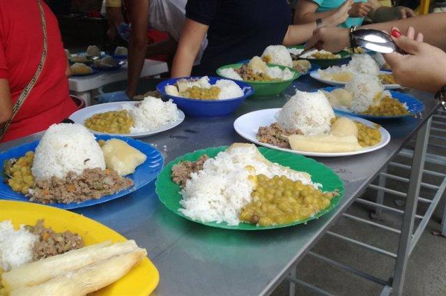 Brasil y México agregarán arroz y frijoles a sus menús comerciales