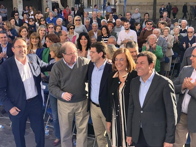 26M.- Casado Visitará Palencia El Último Día De Campaña