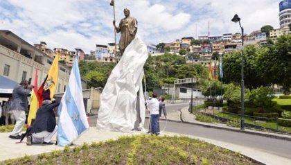 La ciudad de Guayaquil en Ecuador estrena estatua del Apóstol Santiago