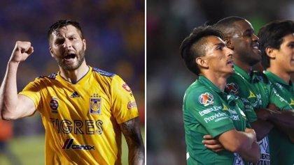 León y Tigres concretan su pase a la semifinal del fútbol mexicano