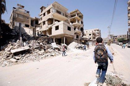 Muere un niño y otros dos resultan heridos por una mina abandonada en la región siria de Guta Oriental