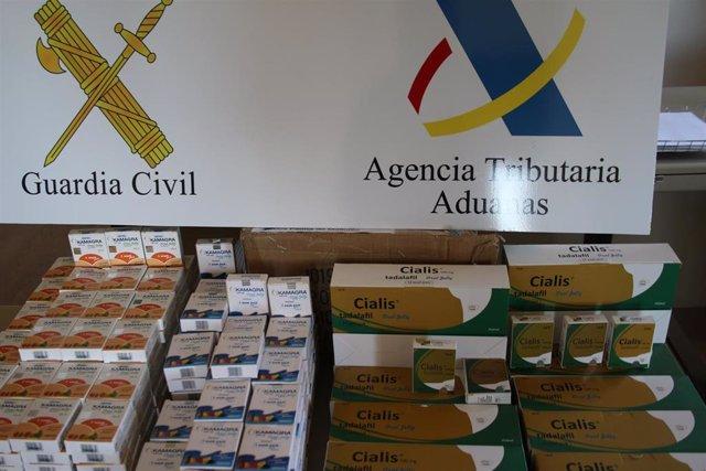 Sucesos.- Detienen en Palma a un hombre que tenía más de 4.500 pastillas para la viagra