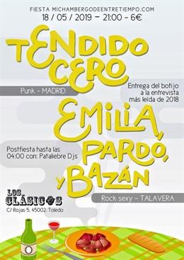 'Mi Chambergo De Entretiempo' Dará Por Primera Vez En Toledo El Botijo De Cerámica A La Entrevista Más Leída El Día 18