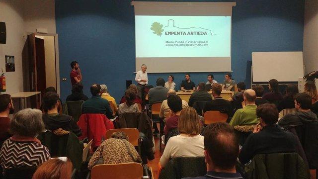 *DESPO   Artieda Presentará En Teruel Las Iniciativas Que Desarrolla En La Lucha Contra La Despoblación