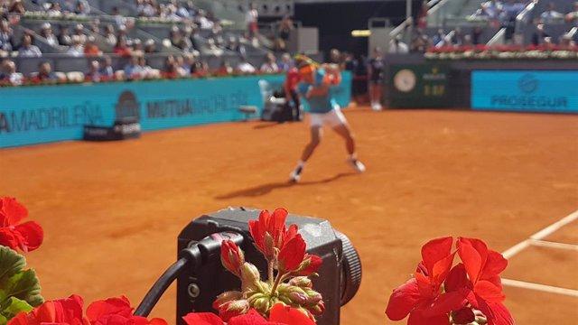 La realidad virtual española que permite ver el Madrid Open desde casa en 360 grados y cambiando de cámara