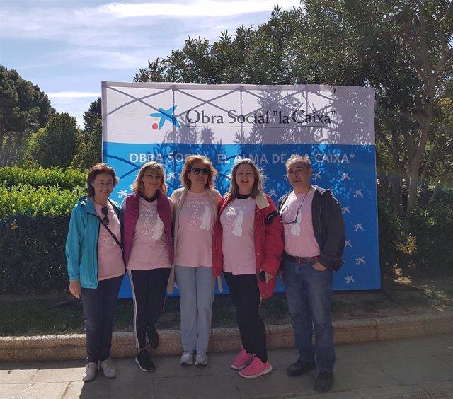 Zaragoza.- Unas 1.500 personas participan en la VI Marcha por la Salud de AMAC-GEMA