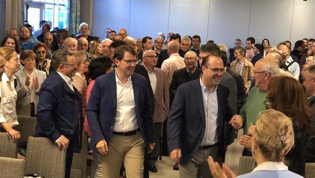 """26M.- Mañueco Advierte Al PSOE De Que El 26 De Mayo """"No Se Va A Olvidar"""" Su """"Traición"""" Al Bierzo Con El Carbón"""