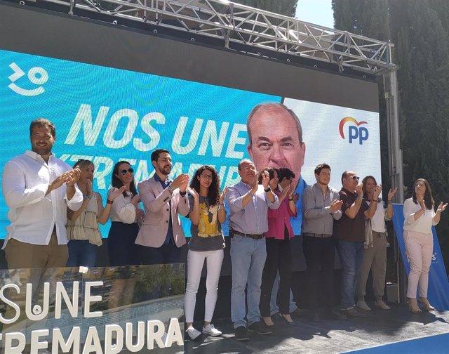 26M.- Monago Da La Bienvenida A Polo Por Copiarle El Régimen Fiscal Especial Pero Pide Que Lo Demuestre Tras Las Urnas