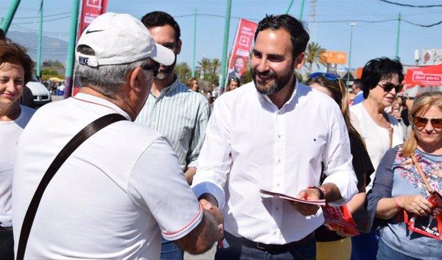 Málaga.- 26M.- El PSOE apuesta por la modernización de mercadillos ambulantes para integrarlos como reclamo turístico