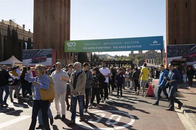 Fira.- Aumenta un 11% la asistencia al primer fin de semana de Automobile Barcelona