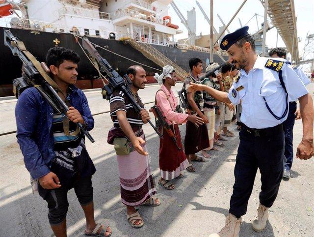 Yemen.- La ONU confirma el repliegue de los insurgentes huthis en Hodeida frente a las críticas del Gobierno yemení
