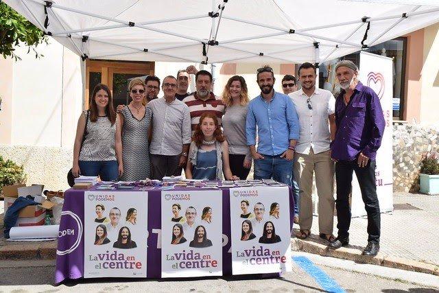 26M.- 'Unides Podem' Reafirma A Felanitx La seva Aposta Pel Producte Local