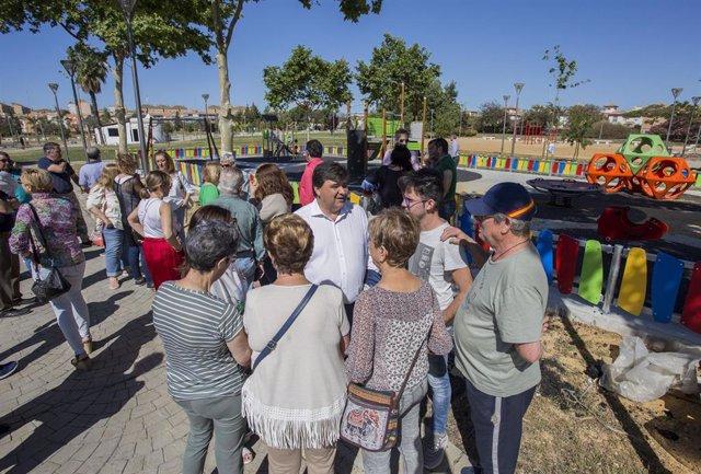 Huelva.- 26M.- PSOE apuesta por un plan de embellecimiento paisajístico en parques y jardines