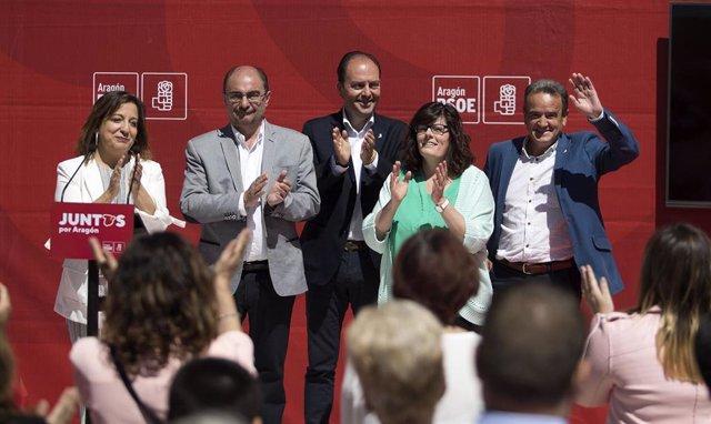 """26M.- Lambán Sostiene Que La Única Fuerza Política """"Capacitada"""" Para Desenvolverse En La """"Centralidad"""" Es El PSOE"""