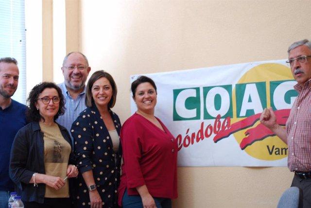 Córdoba.- 26M.- Ambrosio (PSOE) promete impulsar el sector agroalimentario desde Córdoba Logística