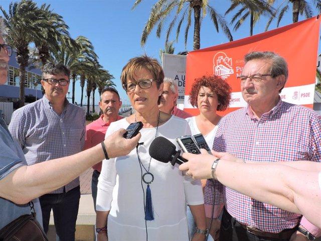 """Almería.- 26M.- Valverde (PSOE): """"Almería tiene pendiente ser una ciudad del deporte para todos y que mire hacia el mar"""""""
