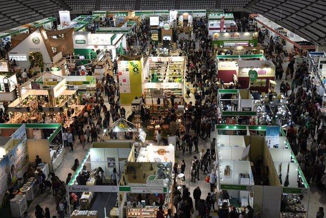 Unes 74.000 persones visiten la fira d'alimentació ecològica BioCultura a Barcelona
