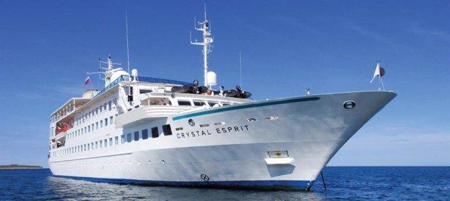 Almería.- Puertos.- El crucero Crystal Esprit hace este lunes su primera escala en el Puerto