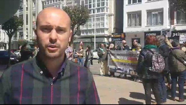 """Marea Cántabra insta a PRC a incluir el fin del tráfico de armas en Santander entres las """"condiciones"""" a Sánchez"""