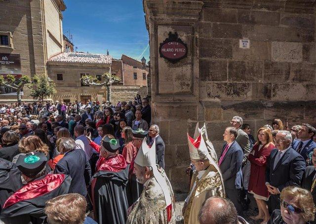 Ceniceros participa en las fiestas de Santo Domingo de la Calzada