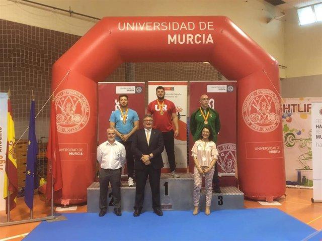 La UR, medalla de oro en el Campeonato de España Universitario de Halterofilia