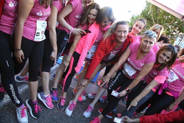 Natación.- Mireia Belmonte se une a la 'marea rosa' de la Carrera de la Mujer de Madrid