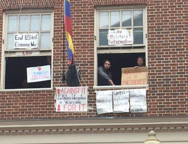 Denuncian un corte de agua en la Embajada de Venezuela en EEUU