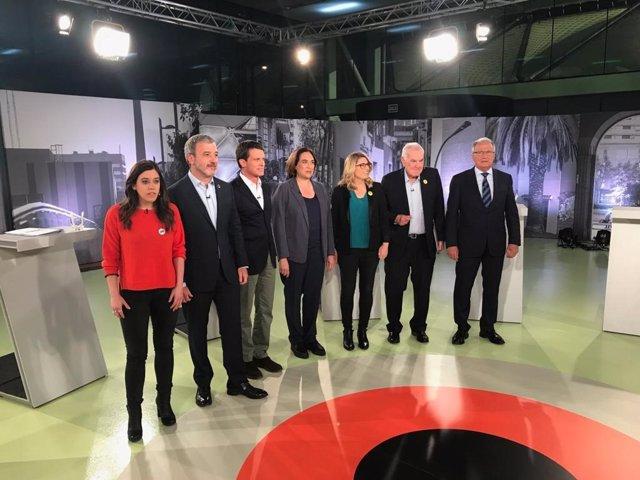 """26M.- Collboni i Valls s'enreden en acusar-li el socialista de """"estar en la dreta"""""""