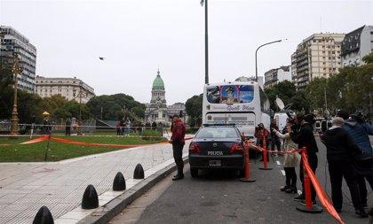 Muere el diputado argentino Héctor Olivares tras ser tiroteado junto al Congreso