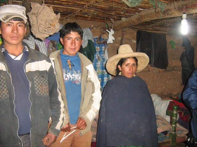 Campesinos peruanos