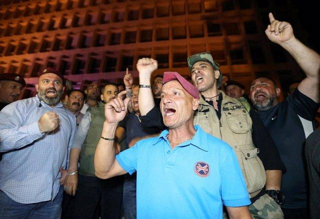 Líbano.- El Banco Central de Líbano funciona con normalidad a pesar de las protestas por los recortes