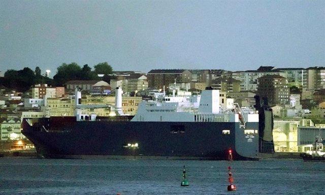 Esp/A.Saudí.- Atraca en España un barco saudí al que una ONG impidió cargas armas en Francia